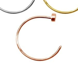 💸$5 Add On 💸 Nose Hoop Rose Gold Plated